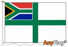 NAVAL ENSIGN OF S AFRICA  ANYFLAG RANGE - VARIOUS SIZES